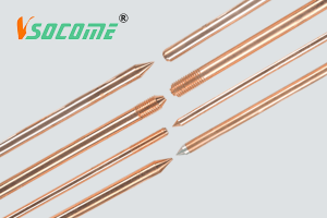 Copper bond earth rod